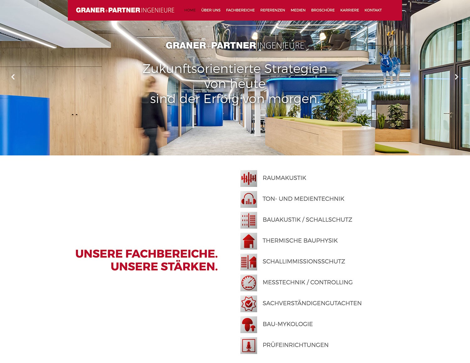 Graner + Partner Ingenieure GmbH website
